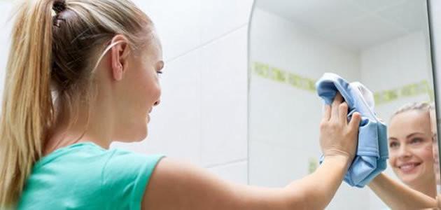 5 truques caseiros para limpar espelhos