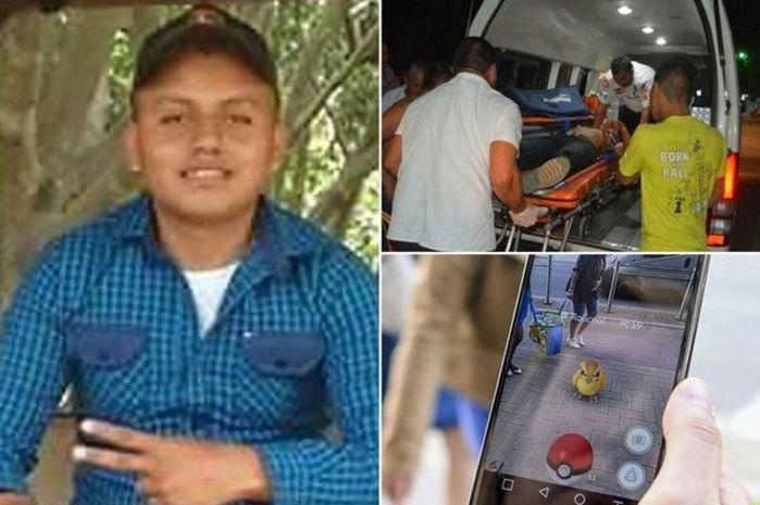 Jovem foi morto quando jogava Pokémon Go