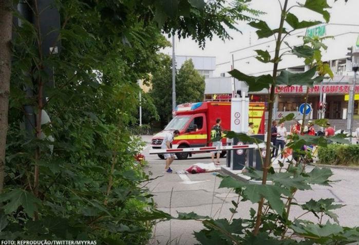 Tiroteio em shopping deixou mortos e feridos em Munique