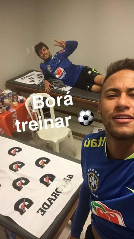 Neymar nas redes sociais (Crédito: Reprodução)