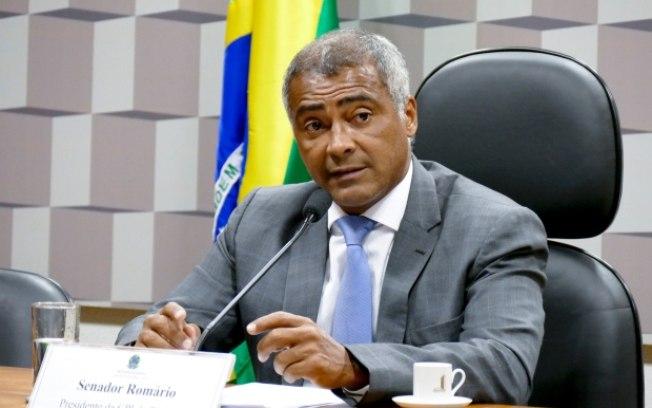 Romário se envolveu em polêmica na política