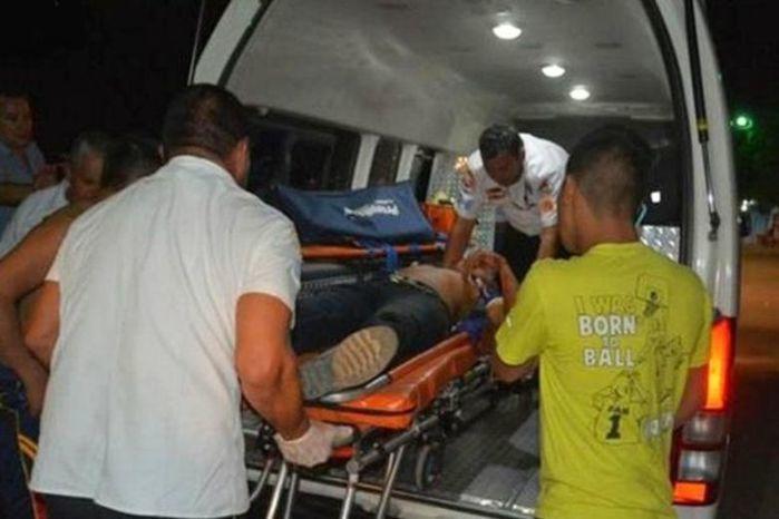 Jerson foi socorrido, mas morreu no hospital