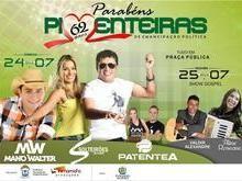 Solteirões do Forró neste domingo no aniversario de Pimenteiras