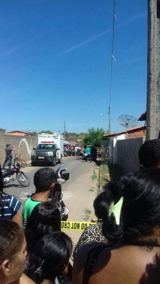 Crime em Timon (Crédito: Plantão Policial Piauí)