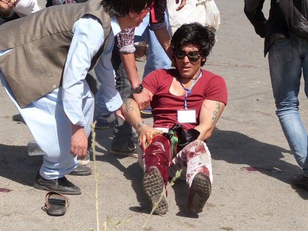 Homem é ferido em atentado em Cabul