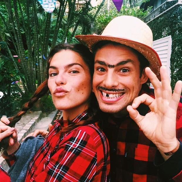 Mariana Goldfarb e Cauã Reymond (Crédito: Reprodução)