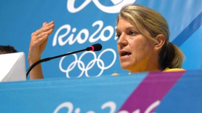 Kitty Chiller, chefe de missão da Austrália na Rio-2016 (Crédito: AFP Photo)
