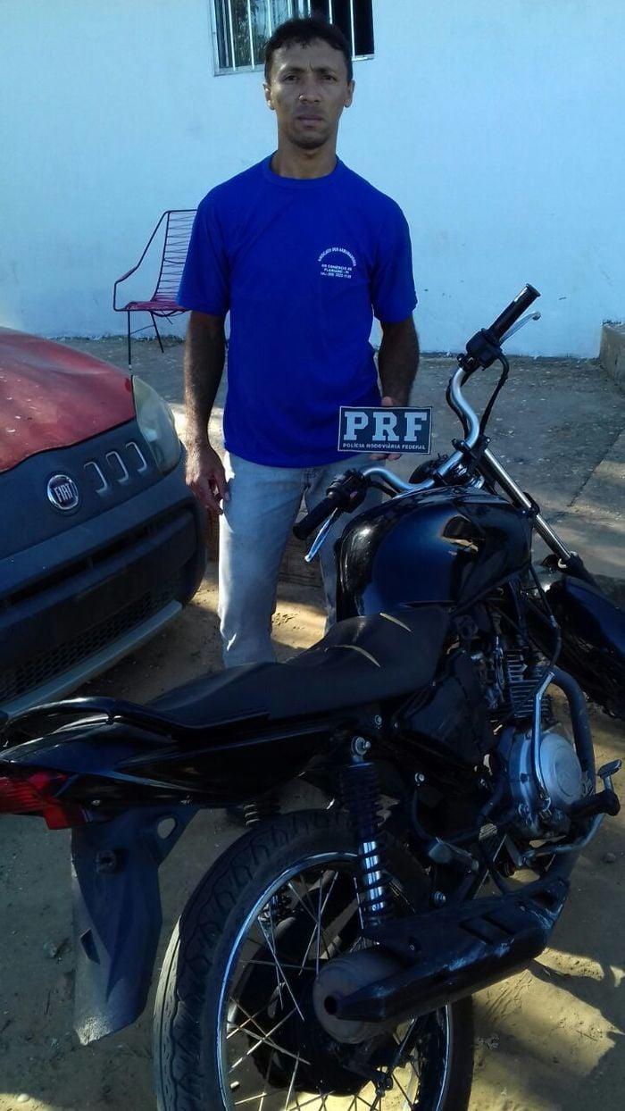 Renilson Silva Nascimento recuperou sua moto