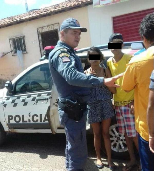 Os menores foram apreendidos acusados de matar a mãe da garota