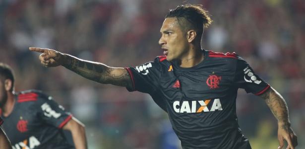 Guerrero marca mais um gol pelo Fla (Crédito: Uol)