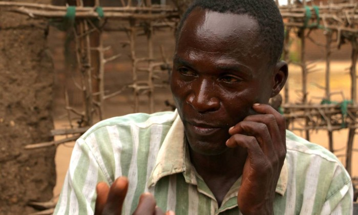 Eric Aniva foi preso no Malawi nesta terça  (Crédito: AP)
