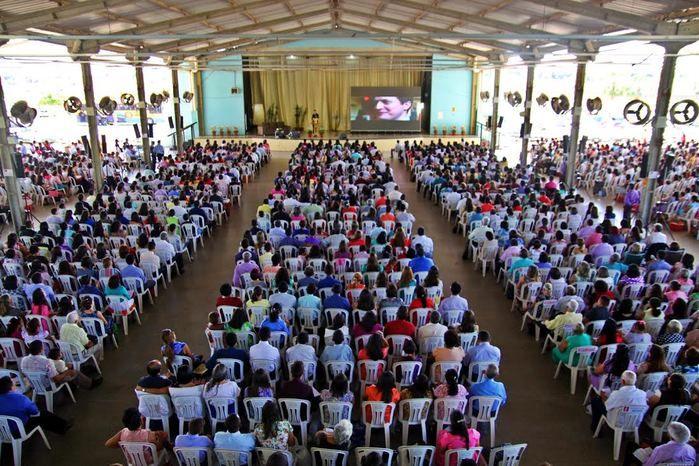 Os congressos são realizados no Clube do Carvalho, em Teresina