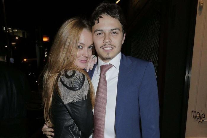 Lindsay Lohan acusa noivo de traição e polícia é chamada após briga (Crédito: Reprodução)
