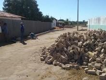 Ruas do Sol Nascente recebem pavimentação em Paralelepípedo