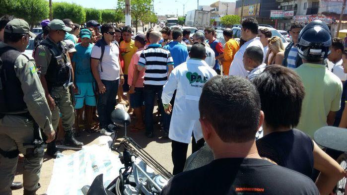 Homicídio em Picos (Crédito: Reprodução)
