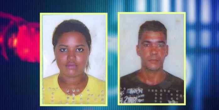Casal preso por tráfico (Crédito: Reprodução)