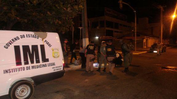 Acidente causou morte em Parnaíba (Crédito: Reprodução)