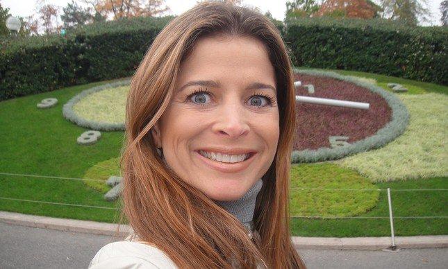 Cláudia Cruz, esposa de Cunha (Crédito: Yahoo)