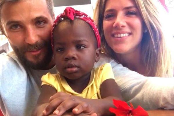 Bruno Gagliasso nega que a filha, tenha contratos publicitários (Crédito: Reprodução)