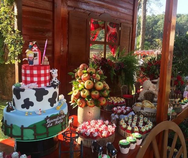 Rafaella Justus comemora aniversário em sítio com a família (Crédito: Reprodução)