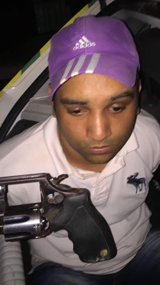 Homem com tornozeleira eletrônica é preso na zona Sul de Teresina (Crédito: Reprodução)