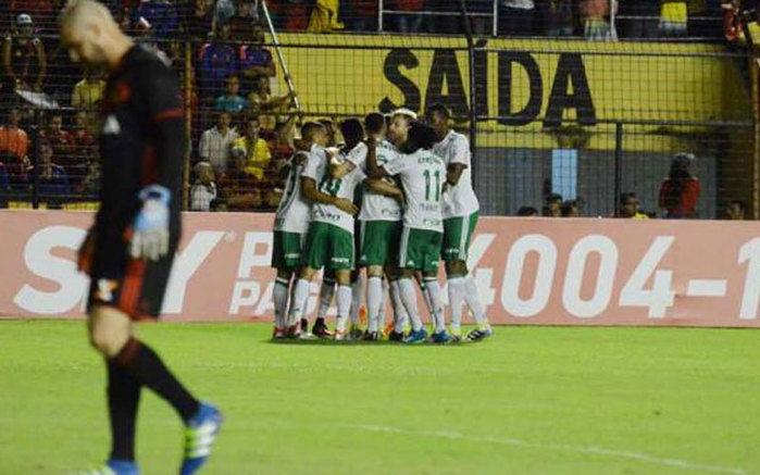Palmeiras segue na liderança (Crédito: Site Palmeiras)