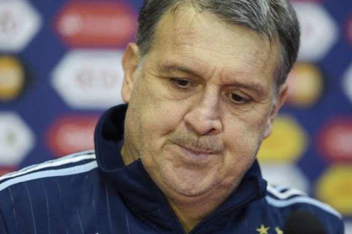 Tata Martino deixa o comando da Argentina