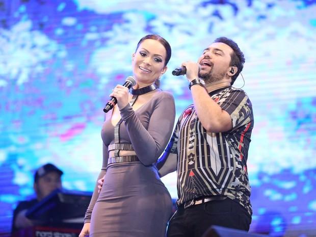 Solange Almeida e Xand  (Crédito: Divulgação)