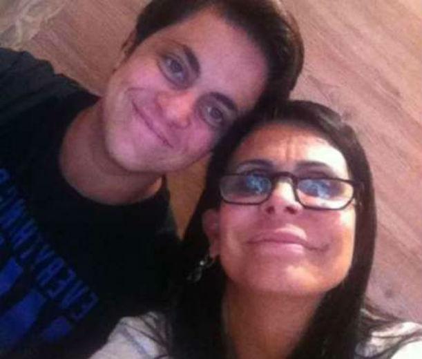 Thammy Miranda e sua mãe Gretchen
