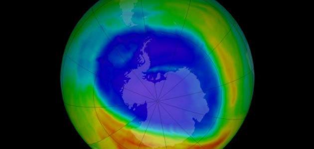 Buraco na camada de ozônio da Antártida está fechando