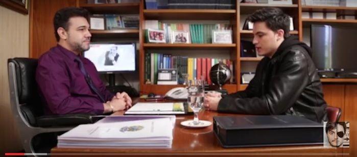 Feliciano e Felipe Neto (Crédito: Reprodução)