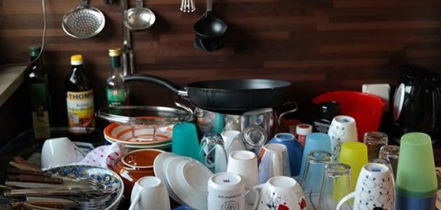 Material pode acabar com a tarefa de lavar louça