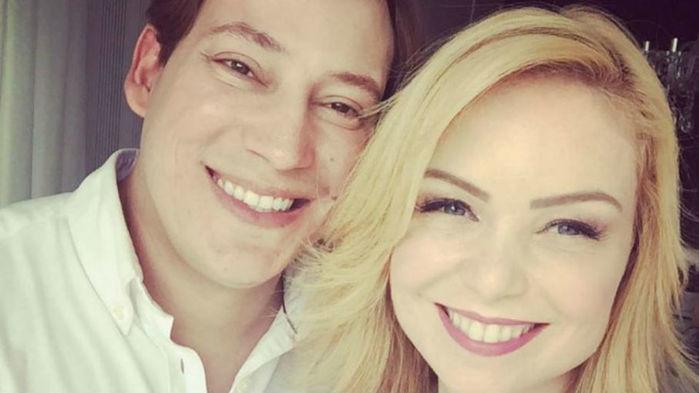 Felipe Garcia e sua esposa Bianca Toledo