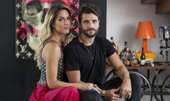 Filha adotiva de Bruno Gagliasso e Giovanna Ewbank chega ao Brasil (Crédito: Reprodução)