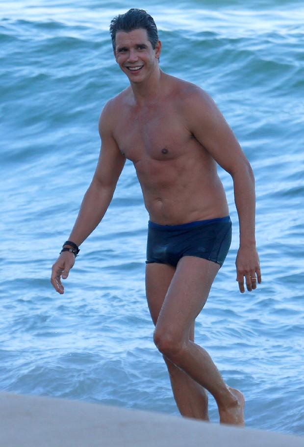Márcio Garcia esbanja boa forma aos 46 anos (Crédito: Reprodução)