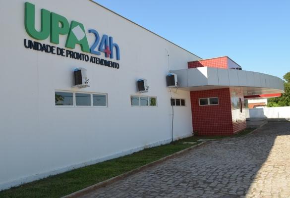 Jovens foram levados para  a UPA de Oeiras