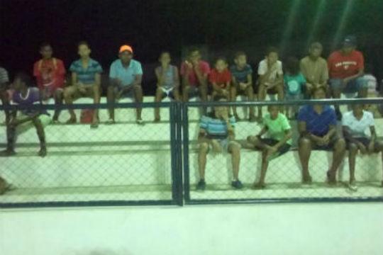 Campeonato de futsal do Bairro Cidade Nova.