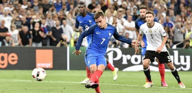 Griezmann marcou dois gols (Crédito: AP Photo)