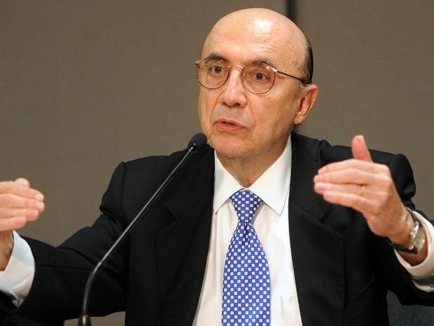 Ministro da Fazenda, Henrique Meirelles (Crédito: Reprodução)