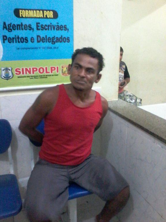 André Vieira, acusado preso