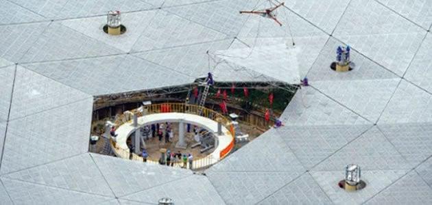 Chineses constroem maior radiotelescópio do mundo
