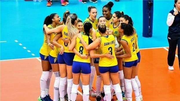 Brasil atropela a Holanda e alcança final do Grand Prix (Crédito: Reprodução)