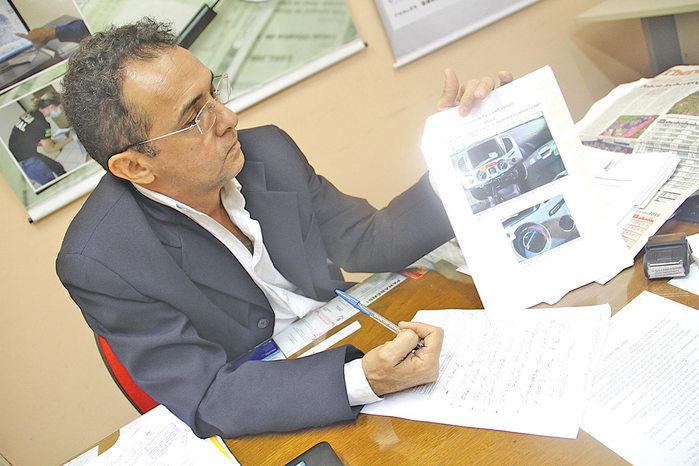 Marcus Pinheiro explica que para que a perícia ocorra de forma satisfatória, é necessário não intervir na cena do crime.