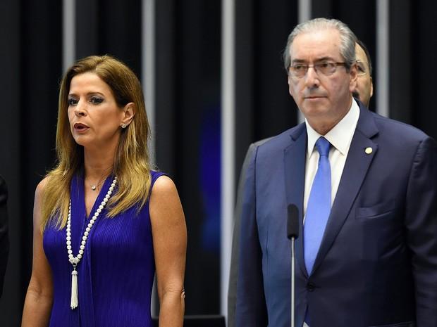 Claudia Cruz e Eduardo Cunha (Crédito: Divulgação)