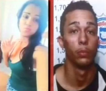 Homem que matou namorada na frente da filha é preso em MT (Crédito: Reprodução)