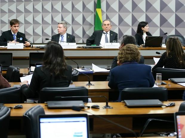 Comissão do impeachment (Crédito: Reprodução)
