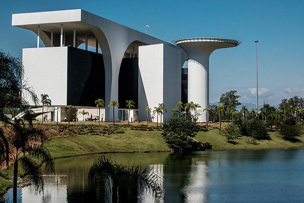 Complexo arquitetônico da Cidade Administrativa (Crédito: Reprodução)