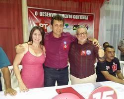 PT oficializou Tonho Veríssimo a reeleição e Zé Valdo a vice.