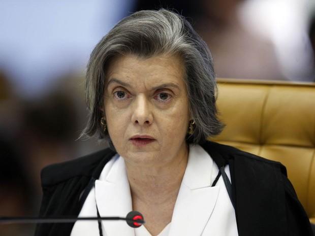 Mineira de Montes Claros, a ministra Cármen Lúcia está no STF desde 2006 (Crédito: Reprodução)