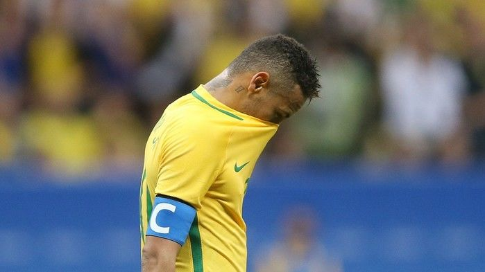 Neymar ainda não teve bom rendimento nas Olimpíadas (Crédito: Divulgação)